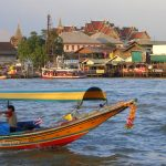 fleuve Bangkok Thaïlande