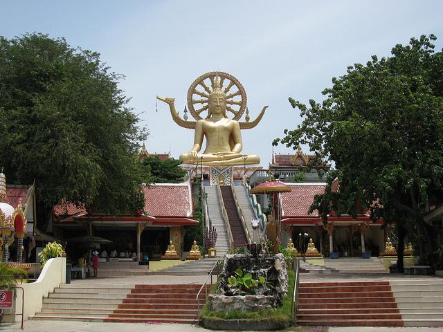 big bouddha à Koh Samui