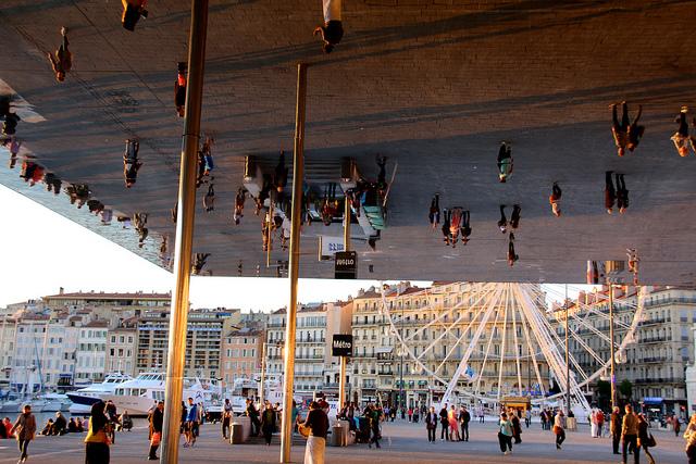 ombrière vieux port Marseille