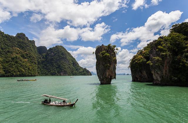 baie de Phang Nga à Phuket Thaïlande
