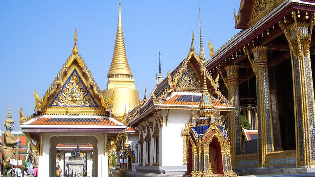 Wat Phra Kaeo temple Bangkok