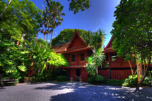 maison de Jim Thompson à Bangkok