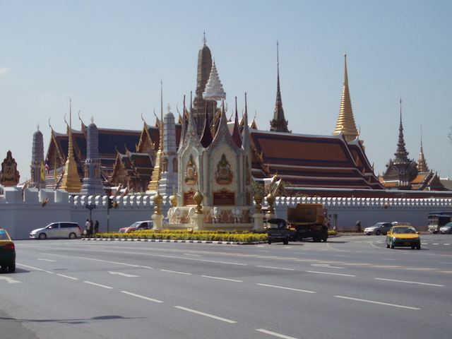 le palais royal de Bangkok