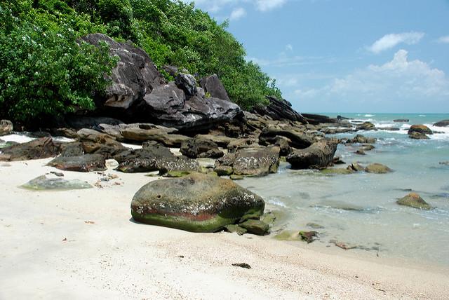 plage Cambodge