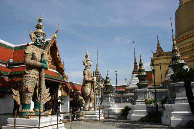 temple Wat Phra Kaeo Bangkok