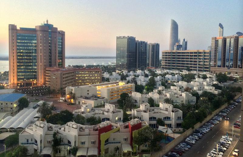 vue sur Abou Dhabi