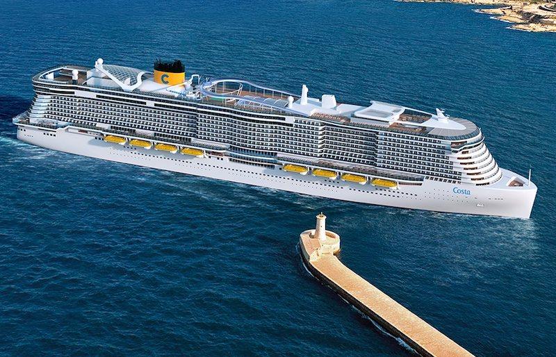 navire Costa smeralda