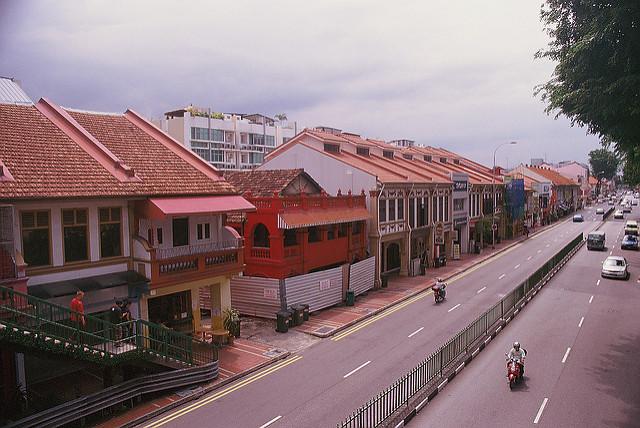 quartier katong Singapour
