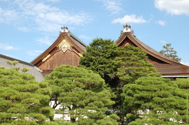 jardin du palais impérial Kyoto