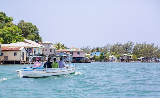 pêcheurs ratant Honduras