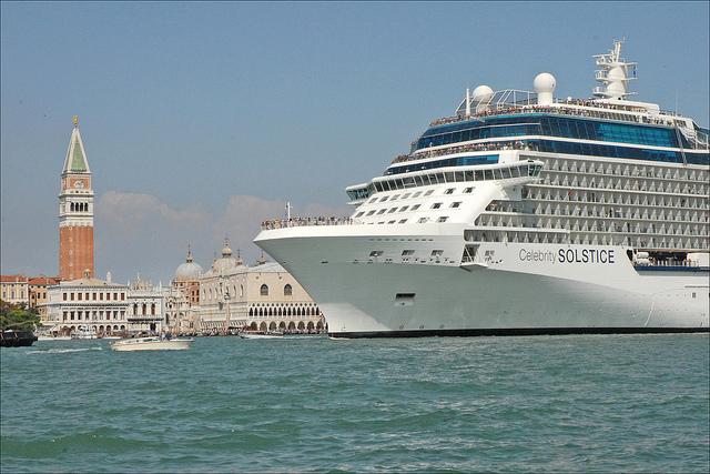 bateau de croisière à Venise