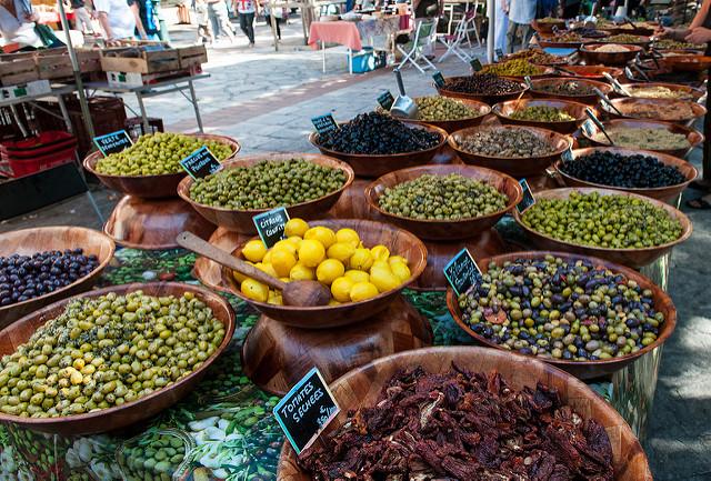 marché d'Ajaccio