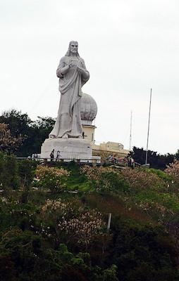 statue du christ de La Havane