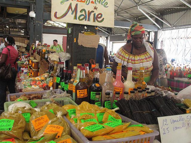 marchés de fort de France