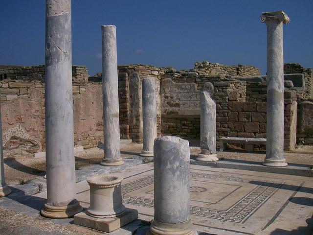 site archéologique de Délos