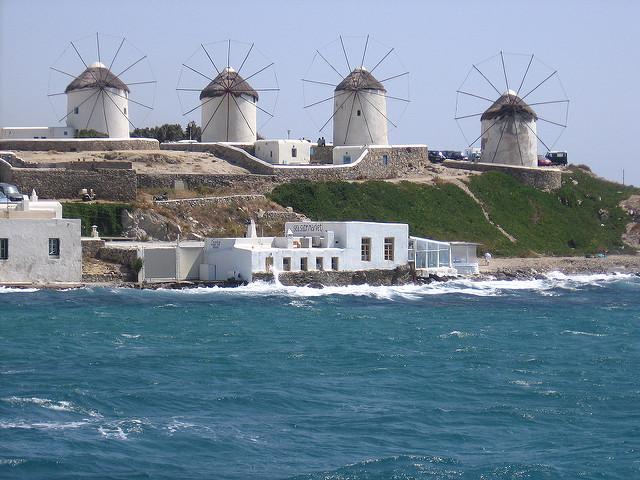 Kato Milli moulins à vent de mykonos