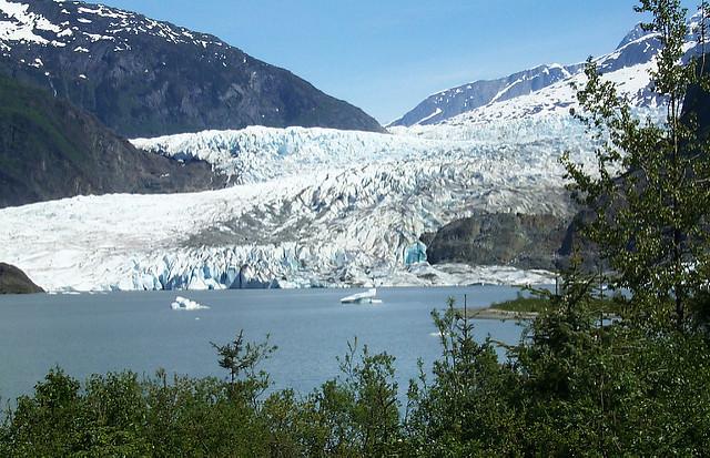 Juneau et le glacier Mendenhall
