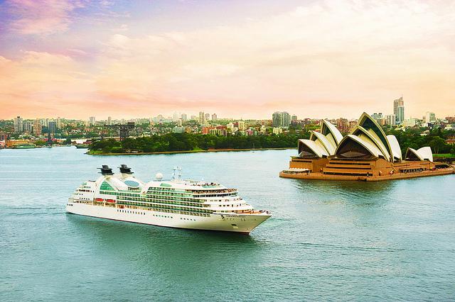 Seabourn Odyssey à Sydney