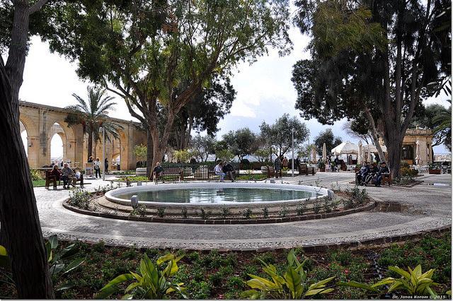 Upper Barrakka Gardens jardins de malte