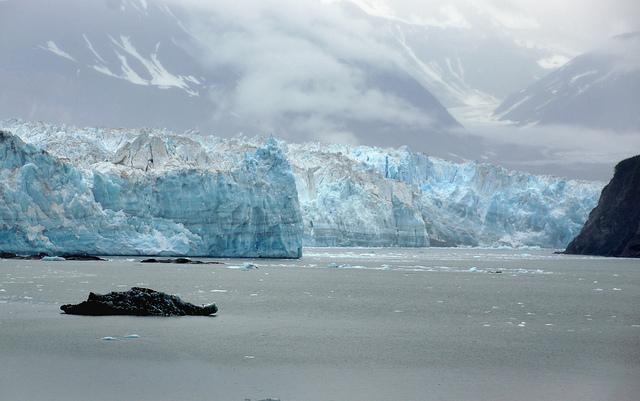 glacier Hubbard Alaska
