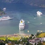 navires de croisières en Europe du nord