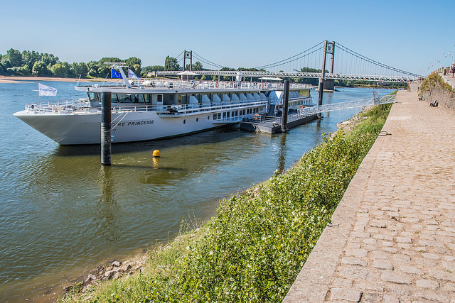 croisière sur la Loire avec croisieurope