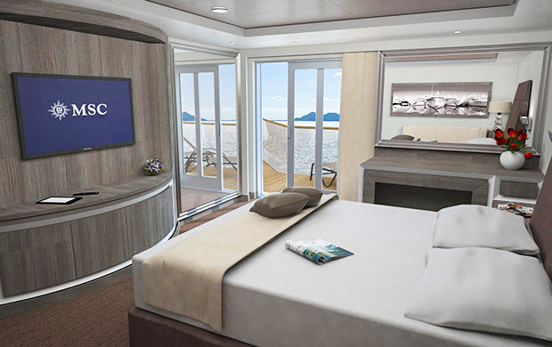 Suite royale MSC Seaview