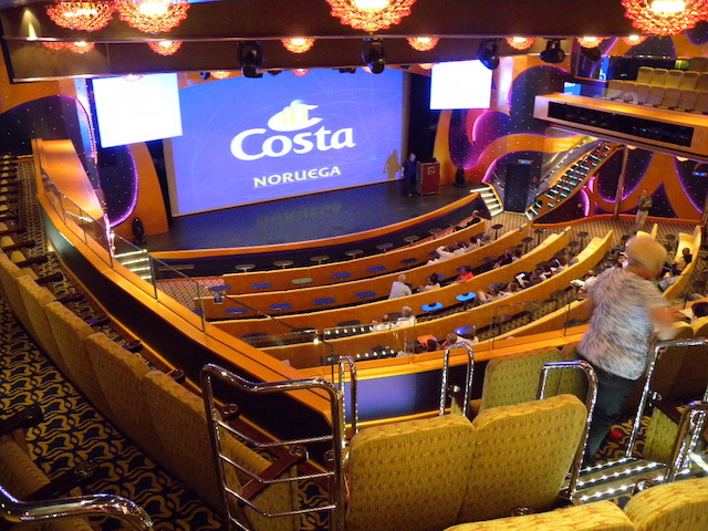 théâtre Costa Luminosa