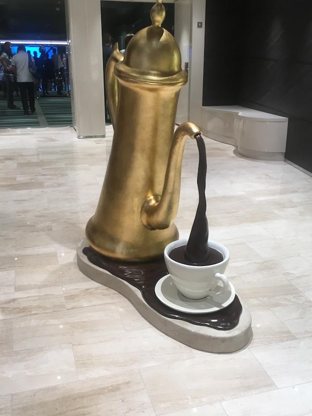fontaine chocolat msc seaview