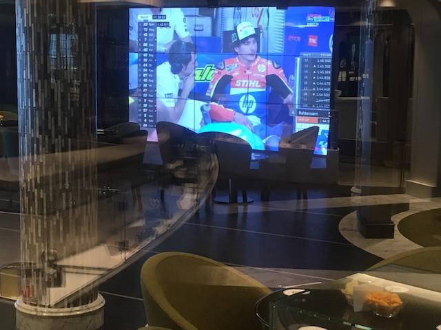 écran géant msc sports bar