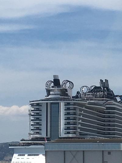 Ascenseur panoramique msc seaview