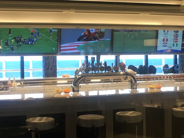 sports bar msc Seaview