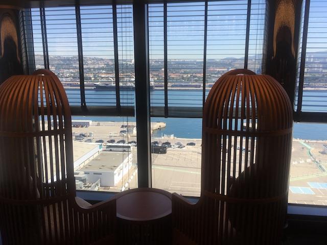 table vue mer restaurant japonais seaview