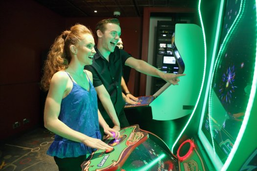 salle de jeux vidéos mariner of the seas