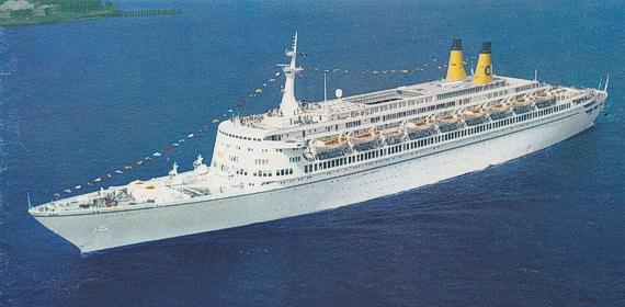 Eugenio C bateau Costa Croisières