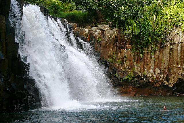 cascade île Maurice