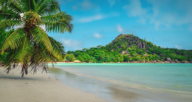 Praslin plage Seychelles