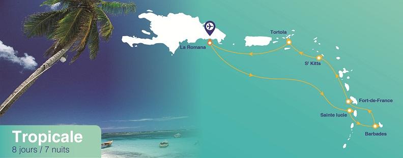 Croisière aux Antilles à bord de l'Horizon de croisières de France
