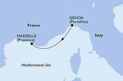 Méditerranée, 2 jours
