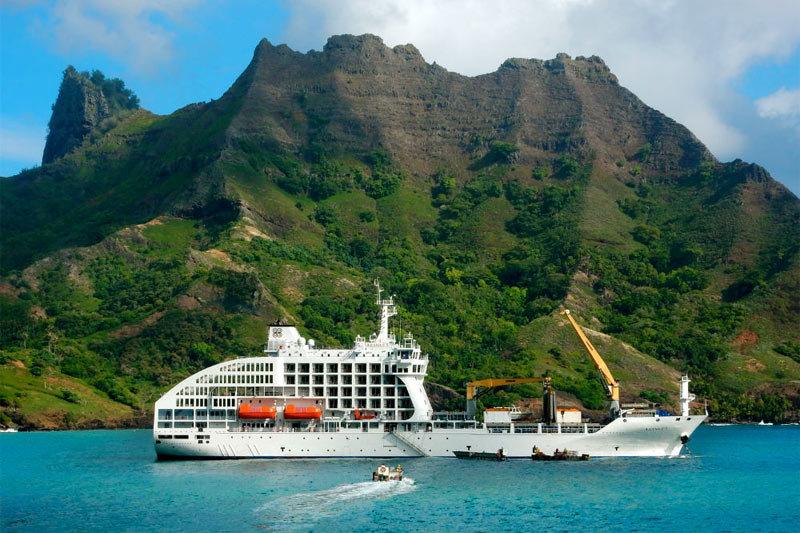 La polynésie à bord de l'Aranui