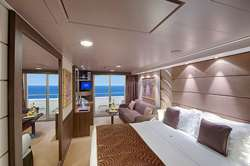 >Suite deluxe MSC Yacht Club