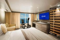 >MSC Yacht Club Suite deluxe Wellness