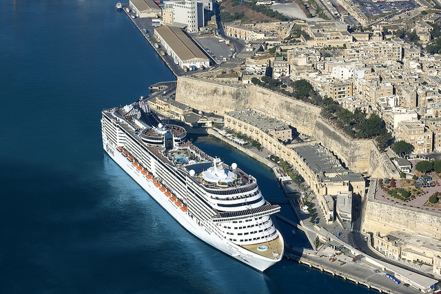msc splendida au port de malte