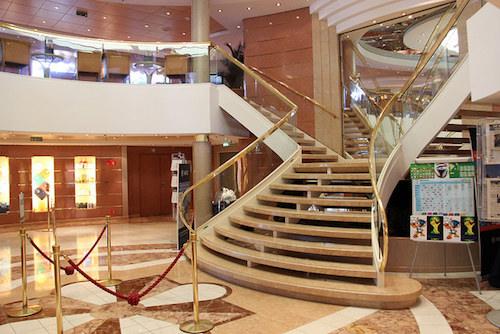 escalier msc lirica