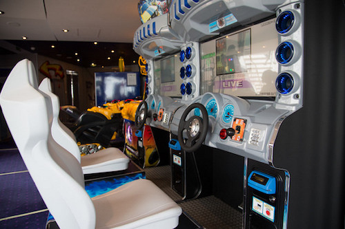 jeux arcade msc divina