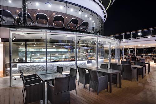 buffet bar lounge msc Meraviglia