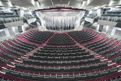 théâtre salle spectacle msc preziosa