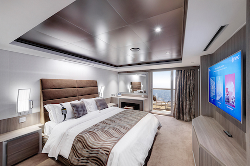 cabine avec balcon msc seaview