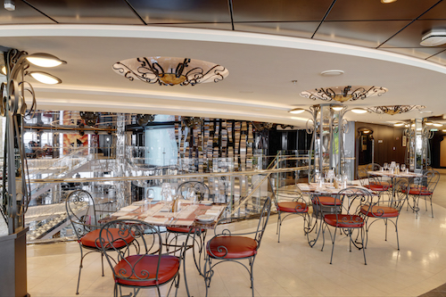 restaurant atelier bistro msc seaview