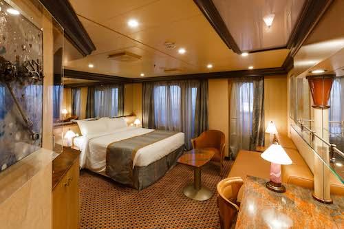 costa diadema cabines suites